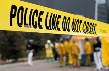 police line, accident, crash, emergency, yellow tape