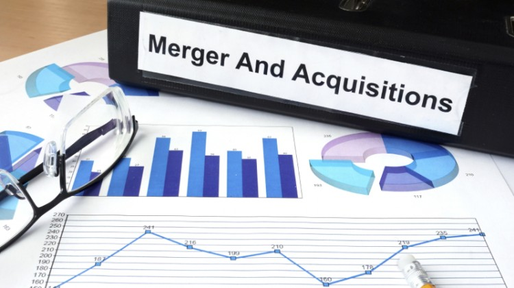 Merger and Acquisition and financial graphs