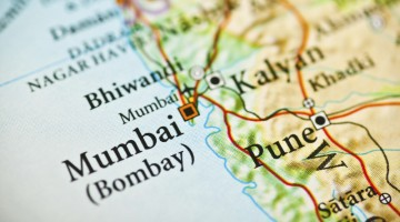 Map of Mumbai