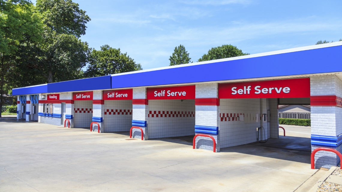 Self-serve carwash