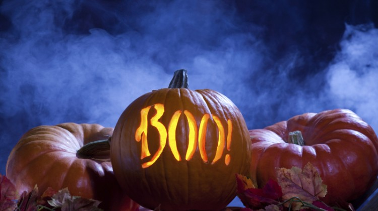 Haunted, Halloween, jack o lantern