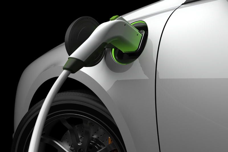 electric car, charging station
