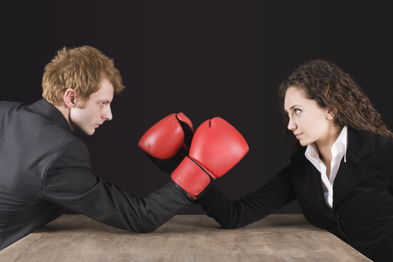 workplace confrontation