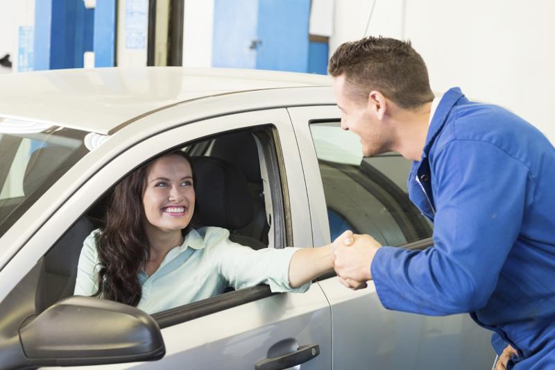 Educating customers, auto care, car care, mechanic