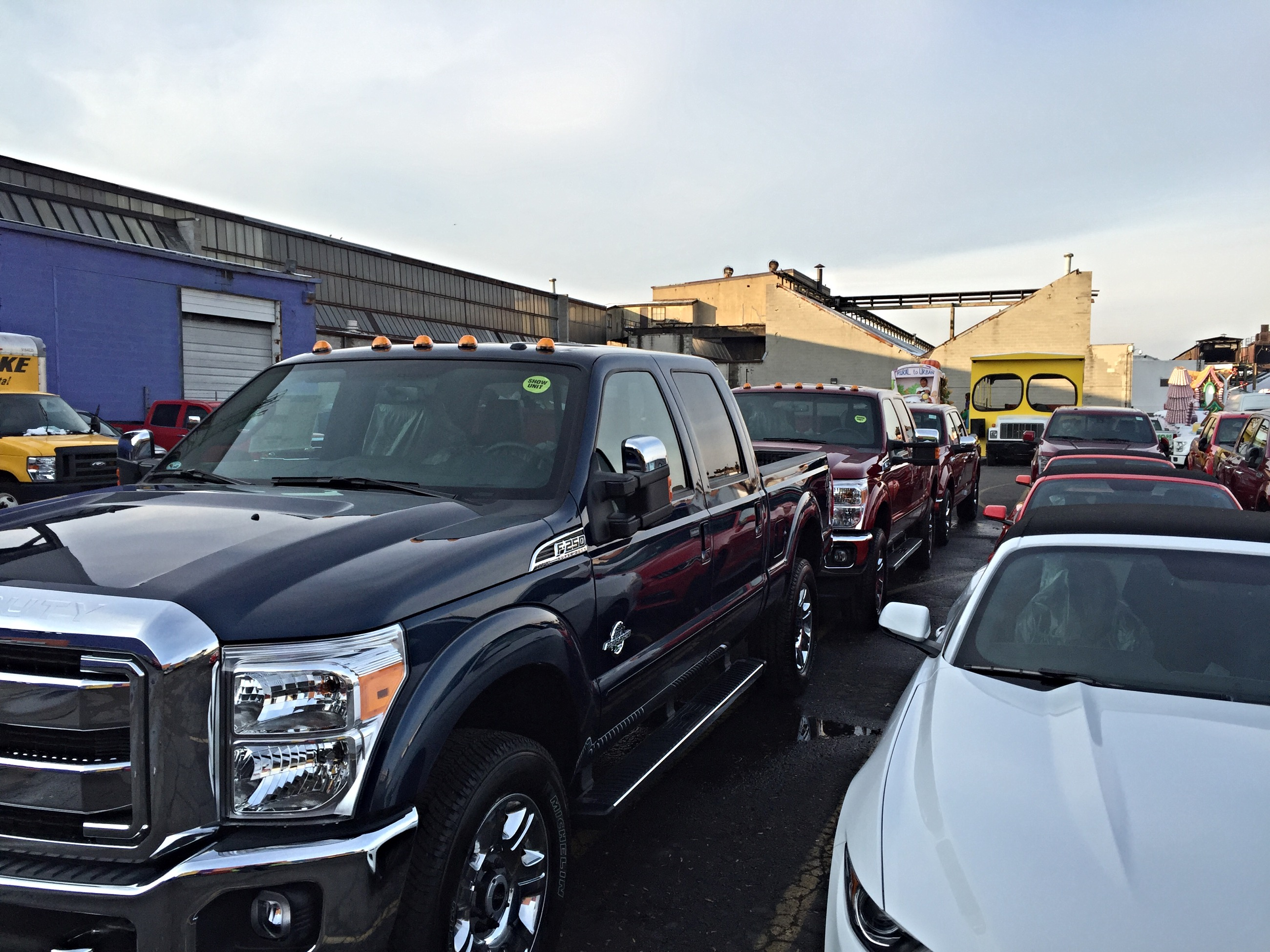 Flawless Auto Finish, Ford, parade, event, detailing