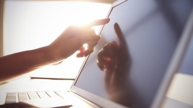 Computer, software, technology, POS, touchscreen, laptop, business,