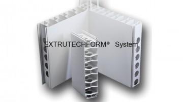Concrete form, Extrutech Plastics Inc.