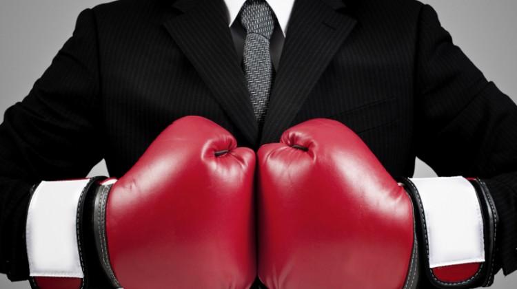 comparison, business decision, competition, battle, compete, competitors, boxing, boxing gloves, comparing