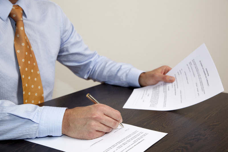How To Start A Carwash Seven Important Legal Documents - Signing legal documents