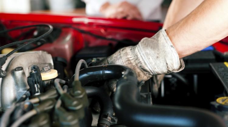 mechanic, engine servhcing, educating customers on car care, under the hood, auto repair