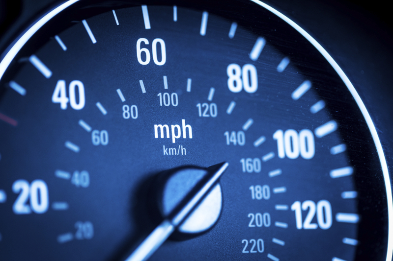 Speed, acceleration, sudden acceleration, speedometer