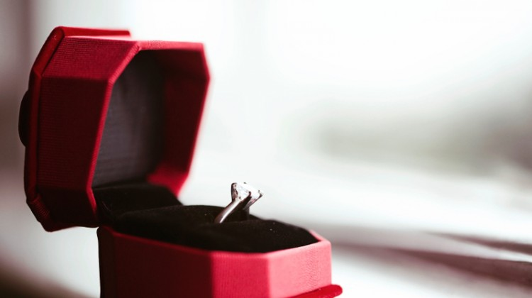 Wedding ring, engagement, diamond ring