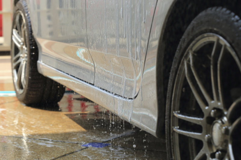 carwash, water drops, water, wet car, clean car, storm drain, water runoff, cleaning, wash, carwash
