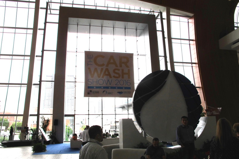 Photo taken by the PC&D team at The Car Wash Show 2016, ICA, International Carwash Association