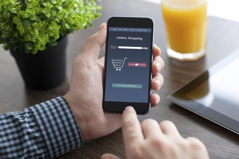 Mobile, smartphone, e-commerce, online shopping, mobile marketing,