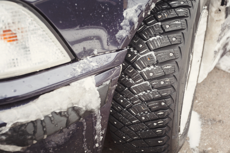 Winter driving conditions, winter, snow, car, ice, tire, car, season, cold, freezing, frozen