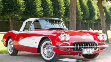 Classic, classic car, detail, detailing, vintage, collector, sports car, corvette.