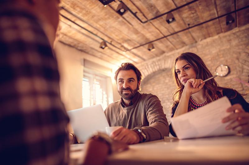 Hiring employees, interview employees, hiring millennials, business interview, employee training.