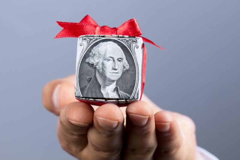 Money, gift, donation, monetary donation, charity, dollar