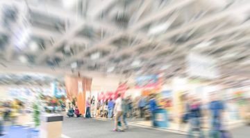 trade show, people, convention, convention center, booths, booth