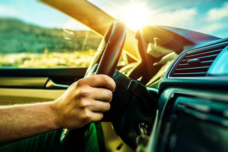 driving, steering wheel, hand, human, driver, car, dashboard, window, windshield