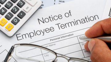 firing employees, termination, employee termination, firing, fired, you're fired, job loss, unemployement