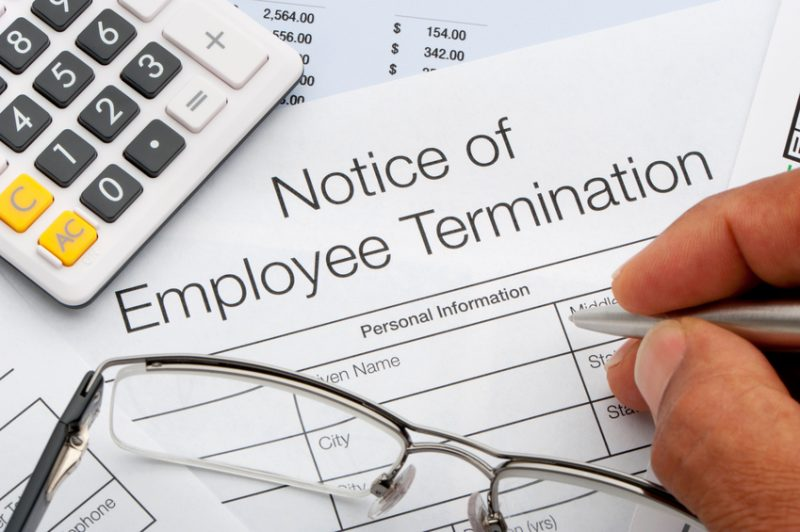 firing employees, termination, employee termination, firing, fired, you're fired, job loss, unemployement