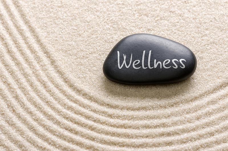 Wellness Employee Zen Garden Sand Stone Mental Health