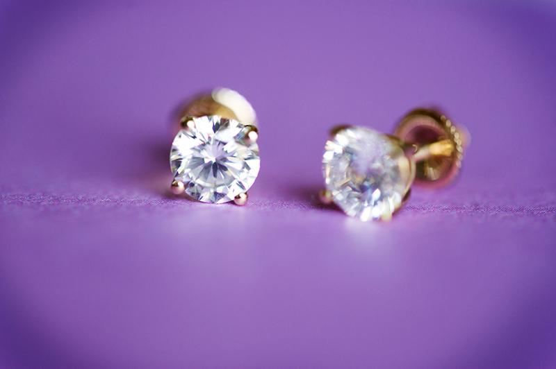 diamond earrings, diamonds, earrings