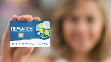 loyalty programs, rewards, card, woman, rewards card, RFID