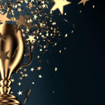 Award, trophy, recognition, winner, honor