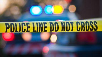 police line, crime, yellow tape, cordon tape, police car, police