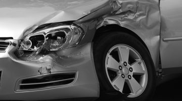 car crash, wreck, accident, damage
