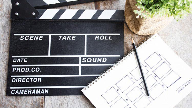 clapper board, movie, storyboard, film, video