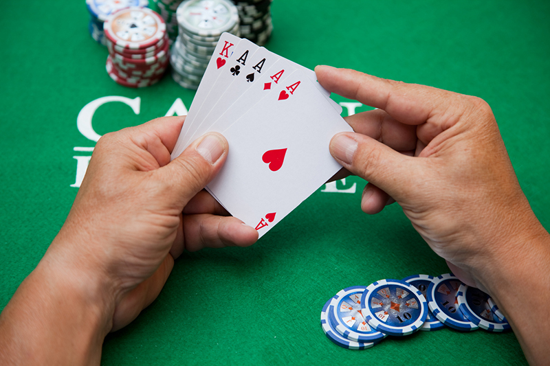 poker, bet, cards, chips, game