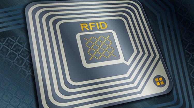 RFID tag, chip