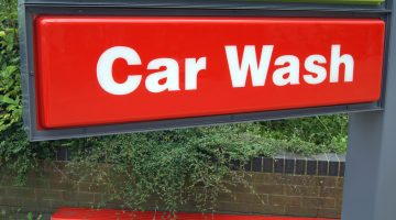 carwash, sign, c-store, gas station