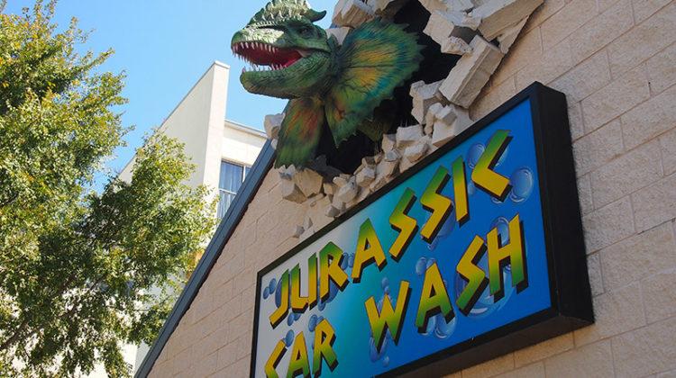 Jurassic Car Wash