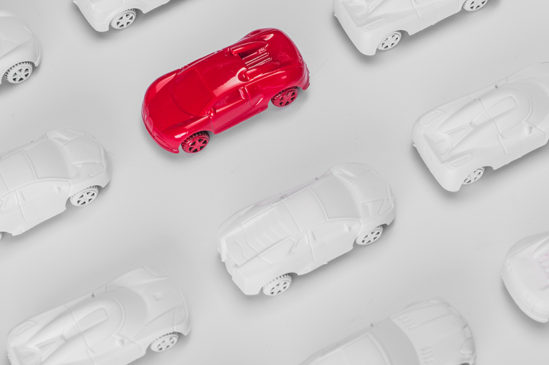 stand out, car, concept, red, white