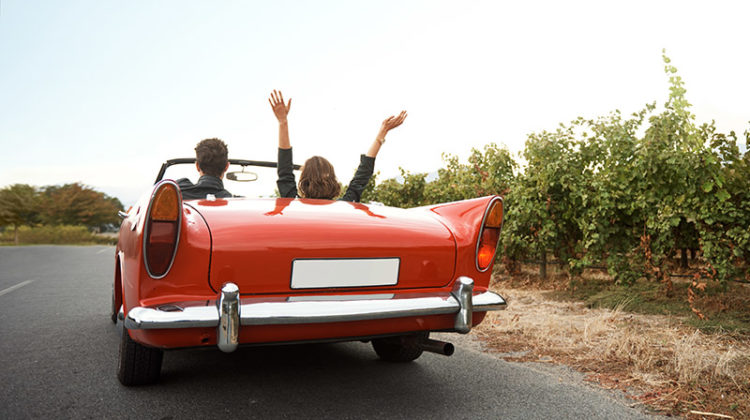 convertible, car, hands, drive, excitement, experience, road