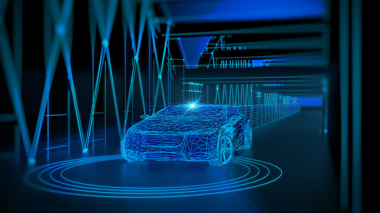 car concept, tunnel, design, self-driving car