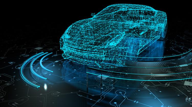 next-generation, automation, self-driving car, sensors, concept