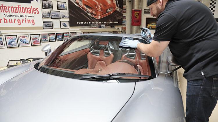 Chris Walters; Photo courtesy of Jay Leno's Garage Advanced Vehicle Care