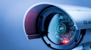 security camera, surveillance system, lens