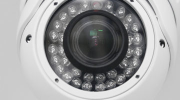 security camera, surveillance system, dome camera