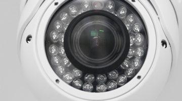 security camera, surveillance system, dome camera