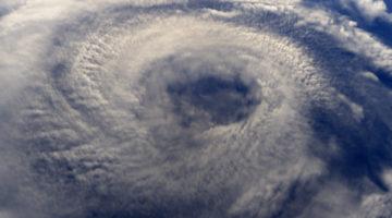 hurricane, storm, ocean