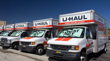 U-Haul, trucks