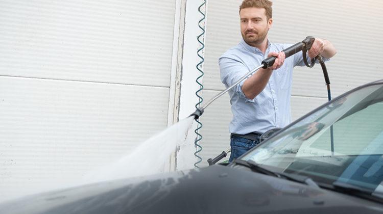 gun, hose, wand, car, self-serve carwash, bay