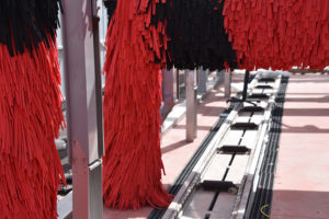 conveyor, rollers, brushes, carwash, equipment